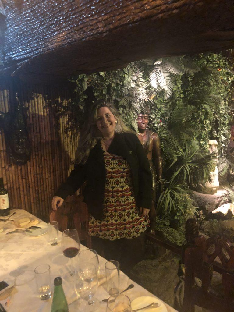 Bali Hai - jantar temático em Santigao
