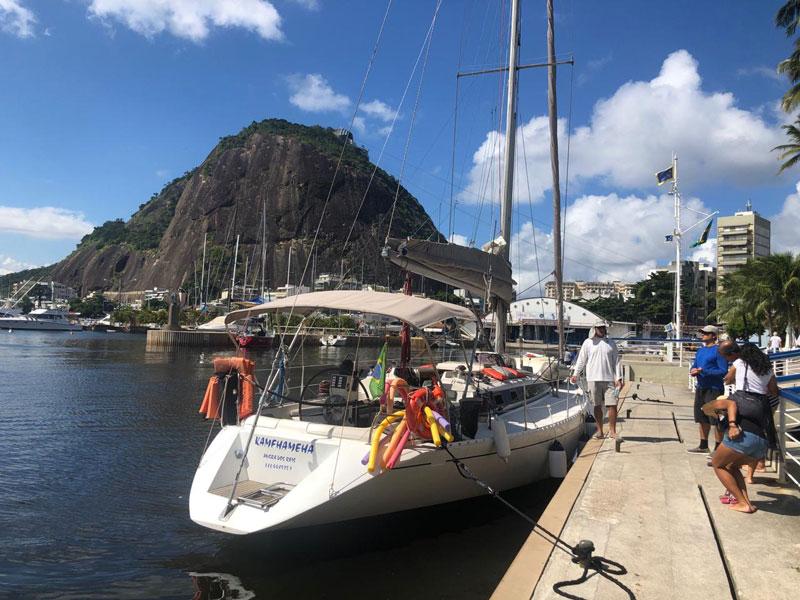 Sail in Rio passeio de veleiro pela Baía de Guanabara