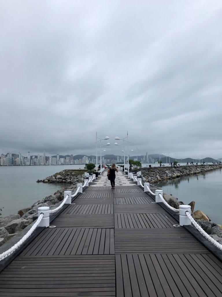 Deck Barra Sul Balneário Camboriú