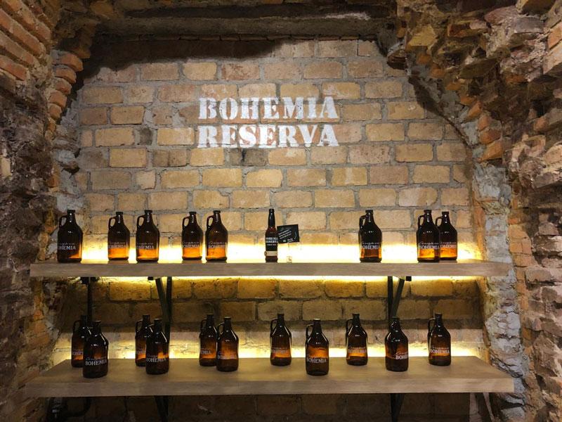 Tour de experiência na Cervejaria Bohemia