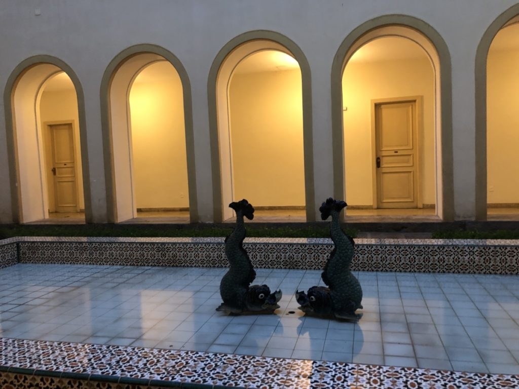 RJ Visita guiada ao palácio guanabara