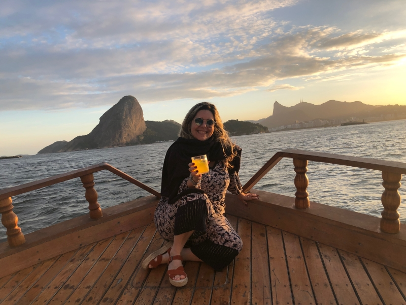 Maré Mansa Sunset Experience: pôr do sol na Baía de Guanabara
