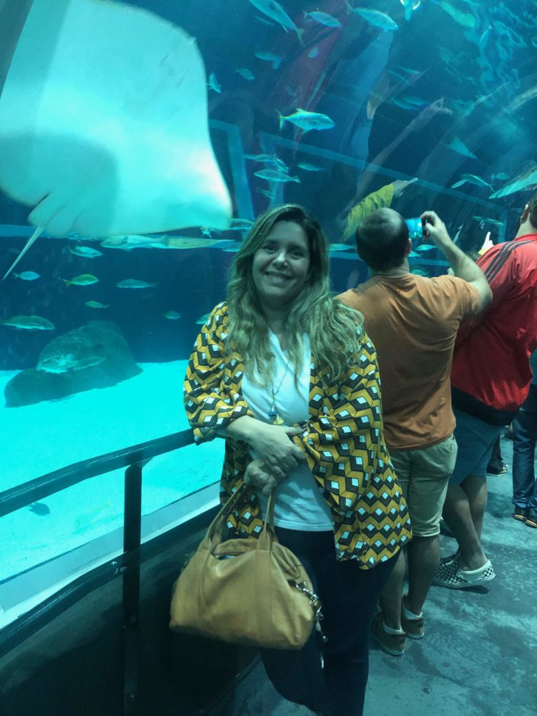Visita ao AquaRio - o maior aquário da América do Sul