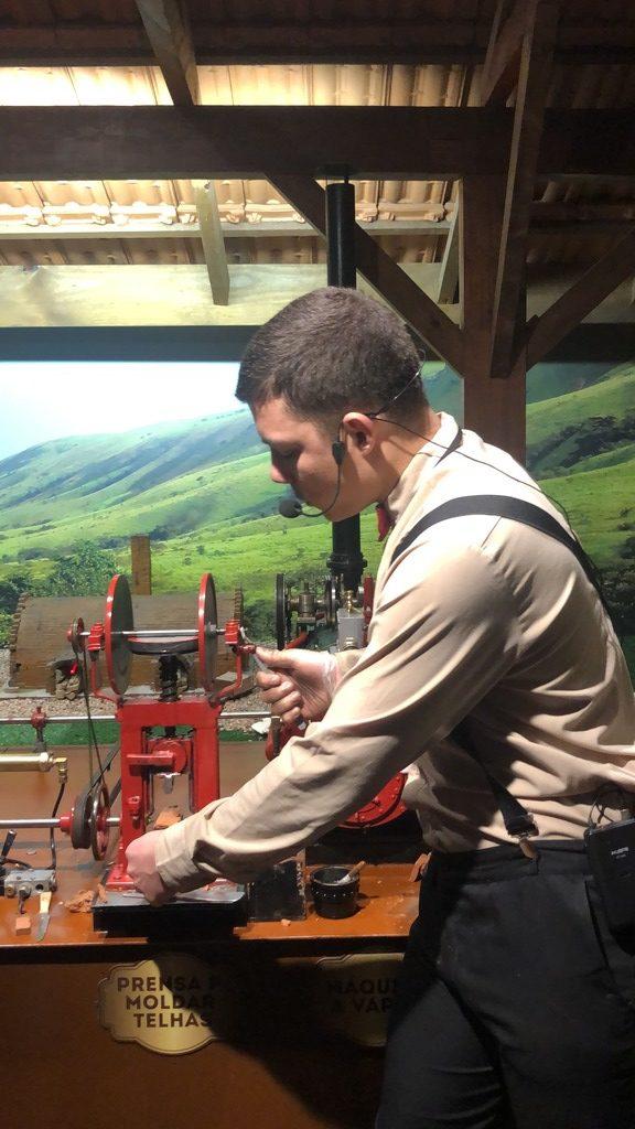 Mundo a vapor - parque temático em Gramado